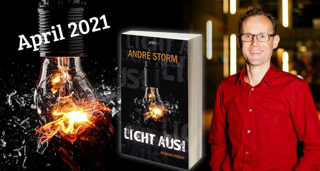 Licht aus! von André Storm erscheint im April 2021